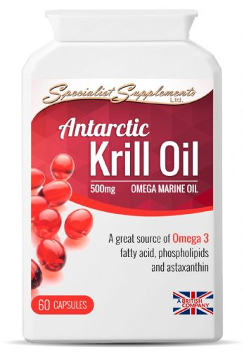 Antarctic Krill Oil 500mg- 60 Omega Marine Oil Capsules